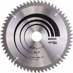 Диск пильный Bosch 216х30мм 60зубьев Optiline Wood (2.608.640.433)