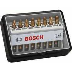 Набор бит Bosch х49мм PZ1/PZ2/PZ3 8шт Max Grip Robust Line (2.607.002.571)