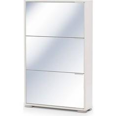 Обувница Вентал Арт Viva-3 зеркало белый