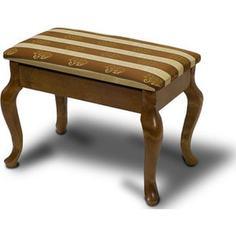 Банкетка Мебелик Ретро с ящиком средне-коричневый