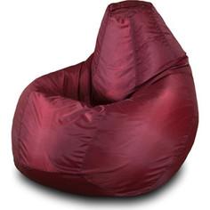 Кресло-мешок Груша Пазитифчик Бмо1 бордовый