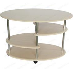 Стол журнальный Калифорния мебель Эллипс СЖ-01 дуб