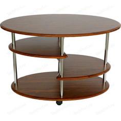 Стол журнальный Калифорния мебель Эллипс СЖ-01 орех
