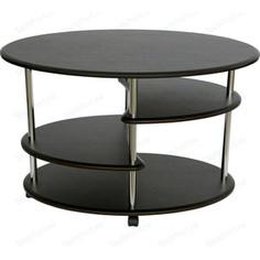 Стол журнальный Калифорния мебель Эллипс СЖ-01 венге