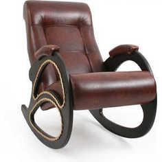 Кресло-качалка Мебель Импэкс МИ Модель 4 каркас венге с лозой,Антик крокодил