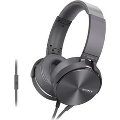 Наушники Sony MDR-XB950AP grey
