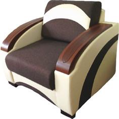 Кресло-Кровать Галактика Паркер mercury milk 228, alba dark brown