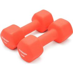 Гантели неопреновые Body-Gym DB02-5 2х5кг
