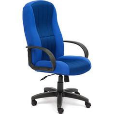 Кресло TetChair СН833 ткань/сетка синий/синий 2601/10