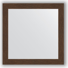 Зеркало в багетной раме Evoform Definite 76x76 см, мозаика античная медь 70 мм (BY 3241)