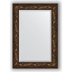 Зеркало с фацетом в багетной раме поворотное Evoform Exclusive 69x99 см, византия бронза 99 мм (BY 3443)