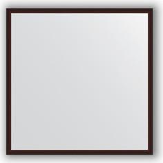 Зеркало в багетной раме Evoform Definite 58x58 см, махагон 22 мм (BY 0604)