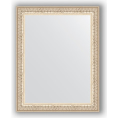 Зеркало в багетной раме Evoform Definite 37x47 см, мельхиор 41 мм (BY 1342)