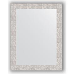 Зеркало в багетной раме поворотное Evoform Definite 66x86 см, соты алюминий 70 мм (BY 3179)