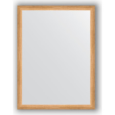 Зеркало в багетной раме поворотное Evoform Definite 60x80 см, клен 37 мм (BY 0646)