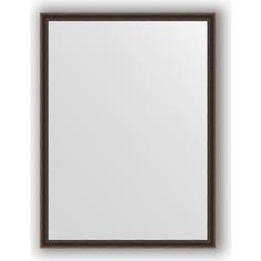 Зеркало в багетной раме поворотное Evoform Definite 58x78 см, витой махагон 28 мм (BY 0641)