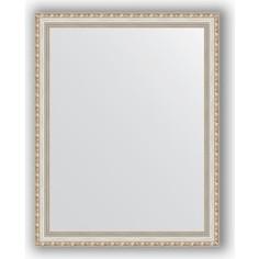 Зеркало в багетной раме поворотное Evoform Definite 75x95 см, версаль серебро 64 мм (BY 3270)