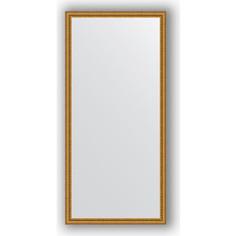 Зеркало в багетной раме поворотное Evoform Definite 72x152 см, бусы золотые 46 мм (BY 1112)