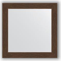 Зеркало в багетной раме Evoform Definite 66x66 см, мозаика античная медь 70 мм (BY 3145)