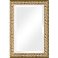 Зеркало с фацетом в багетной раме поворотное Evoform Exclusive 64x94 см, медный эльдорадо 73 мм (BY 1273)