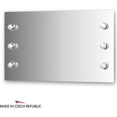 Зеркало Ellux Rondo 100х60 см, с 6-ю светильниками 240 W (RON-A6 9002)