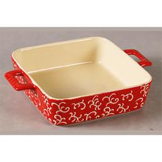 Форма для запекания квадратная 32х23х7см Appetite красная (YR100035Q-12.5)