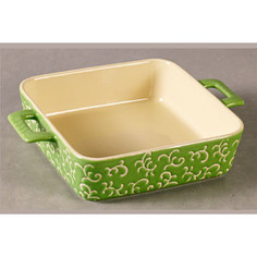 Форма для запекания квадратная 32х23х7см Appetite зеленая (YR100035A-12.5)