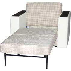 Кресло-кровать АртМебель Атлант основа Корф-02 экожа белый