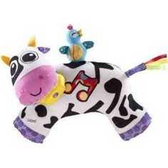 Lamaze Развивающая игрушка Музыкальная корова LC27560