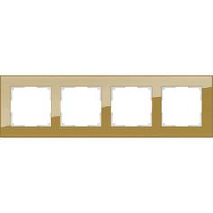 Рамка Werkel Favorit на 4 поста бронзовый WL01-Frame-04