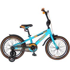 Velolider R18B 2-х колесный велосипед 18 RUSH SPORT бирюзовый