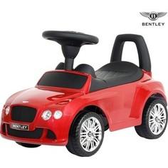 RT 326 Каталка-автомобиль Bentley с музыкой - красный
