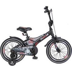 Velolider RJ16 2-х колесный велосипед 16 RUSH JAGUAR черный
