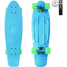 RT 402-B Скейтборд Big Fishskateboard 27 винил 68,6х19 с сумкой BLUE/green