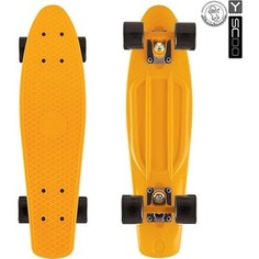 RT 401-O Скейтборд Fishskateboard 22 винил 56,6х15 с сумкой ORANGE/black