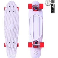 RT 402-W Скейтборд Big Fishskateboard 27 винил 68,6х19 с сумкой WHITE/red