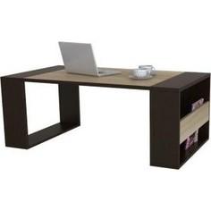 Стол журнальный Мебелик BeautyStyle 25 венге/сонома без стекла