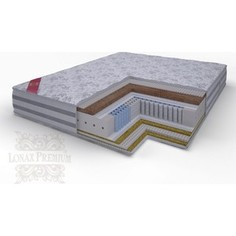 Матрас Lonax Lorentto Lux Anatomic multizone 5-зон 160х195х26