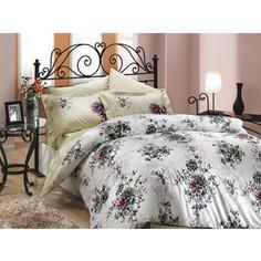 Комплект постельного белья Hobby home collection 1,5 сп, поплин, Carmen, бежевый (1501000080)
