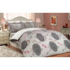 Комплект постельного белья Hobby home collection Семейный, сатин, Alice, лиловый (1501000294)