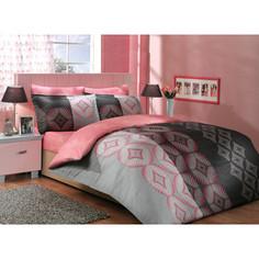 Комплект постельного белья Hobby home collection Семейный, сатин, Gris, серый (1501000310)