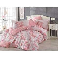 Комплект постельного белья Hobby home collection 1,5 сп, поплин, Vanessa, розовый (1501001099)