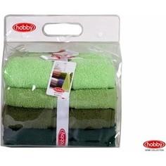 Набор из 4 полотенец Hobby home collection Rainbow 50x90 см 4 штуки зеленый (1501001194)