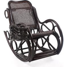 Кресло-качалка Мебель Импэкс CORAL МИ без подушки (цвет орех)