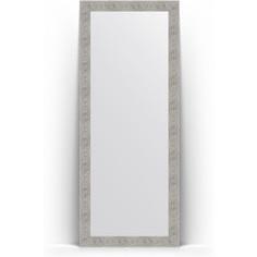 Зеркало напольное поворотное Evoform Definite Floor 81x201 см, в багетной раме - волна хром 90 мм (BY 6011)