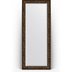Зеркало напольное с фацетом поворотное Evoform Exclusive Floor 84x203 см, в багетной раме - византия бронза 99 мм (BY 6126)