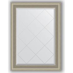 Зеркало с гравировкой поворотное Evoform Exclusive-G 76x104 см, в багетной раме - хамелеон 88 мм (BY 4192)
