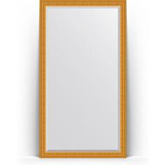 Зеркало напольное с фацетом поворотное Evoform Exclusive Floor 110x199 см, в багетной раме - сусальное золото 80 мм (BY 6149)