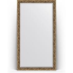Зеркало напольное с фацетом поворотное Evoform Exclusive Floor 111x200 см, в багетной раме - фреска 84 мм (BY 6151)