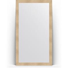 Зеркало напольное поворотное Evoform Definite Floor 111x201 см, в багетной раме - золотые дюны 90 мм (BY 6019)